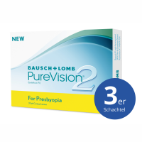 Bausch+Lomb PureVision2 for Presbyopia 3 Stück Monatslinsen