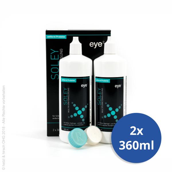 eye2 soley 2x360ml - All-in-one Kombilösung