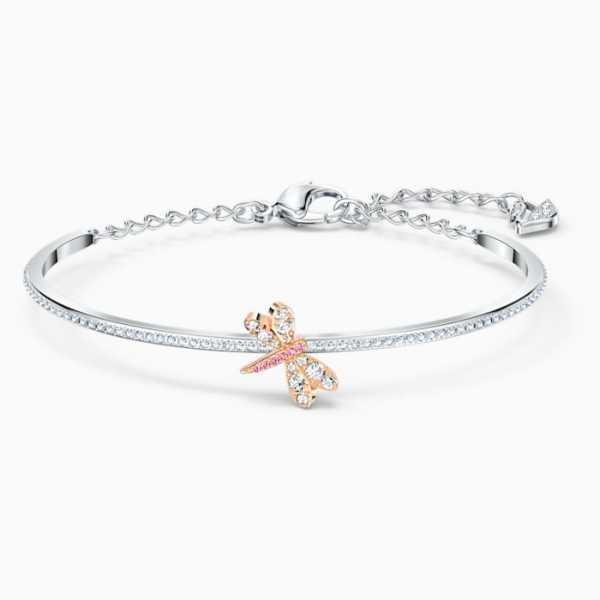 Swarovski - Armreif - Eternal Flower rosa - 5518138