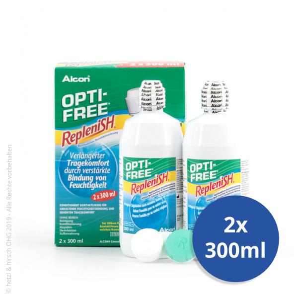 Alcon - OPTI-FREE RepleniSH 2x300ml