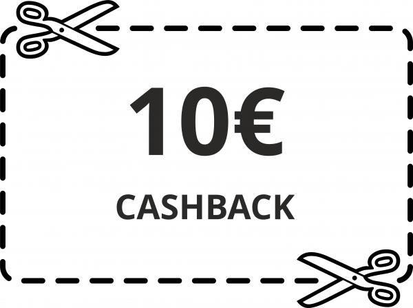 10 € Cash-Back Gutschein