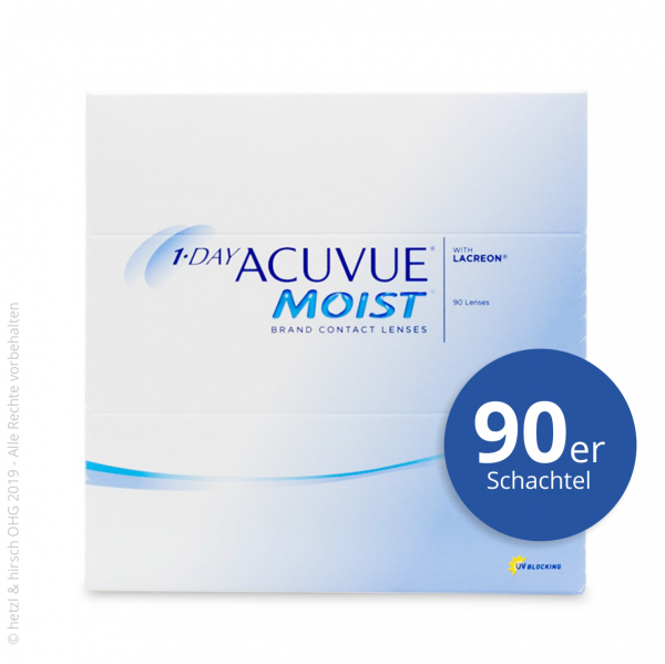 1-Day Acuvue Moist for Astigmatism 90er Tageslinsen