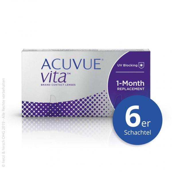 Acuvue Vita 6er Monatslinsen