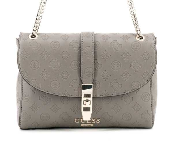 Guess - Peony Classic Cvrtble Schulterltasche taupe - SG739818