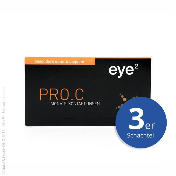 eye2 PRO.C Toric 3er Monatslinsen