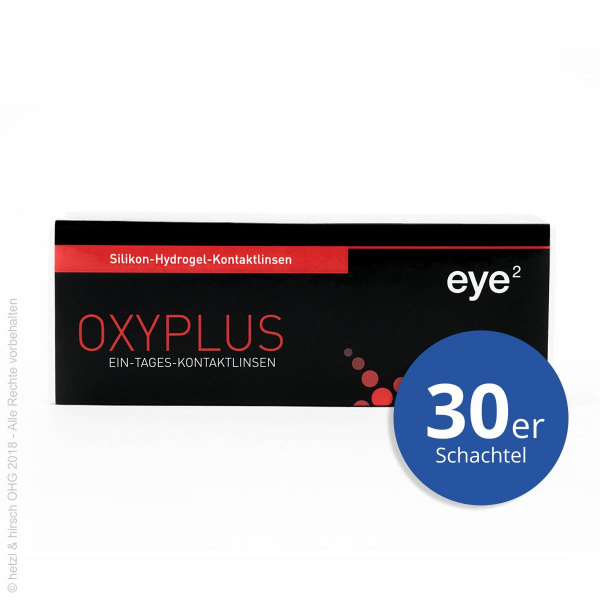 eye2 OXYPLUS 1day 30er Tageslinsen
