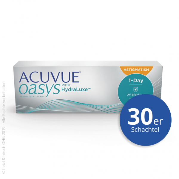 Acuvue Oasys 1-Day for Astigmatism 30er Tageslinsen