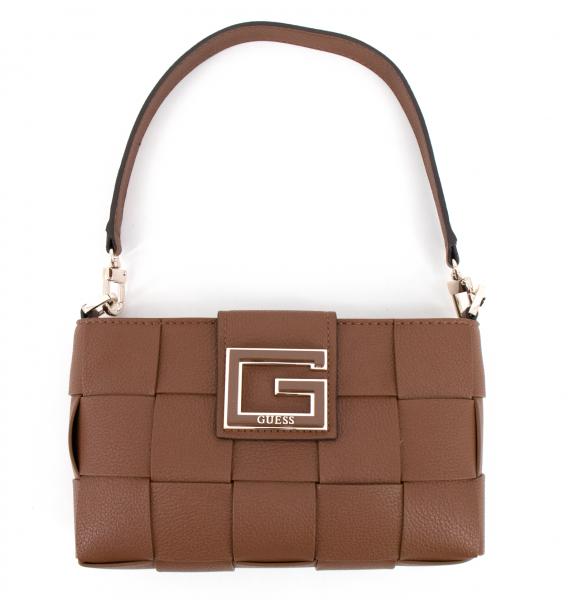 Guess - Schultertasche Liberty City Cognac - EG813520