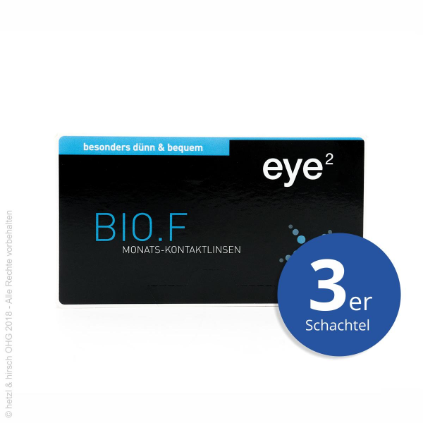 eye2 BIO.F Multifocal 3er Monatslinsen