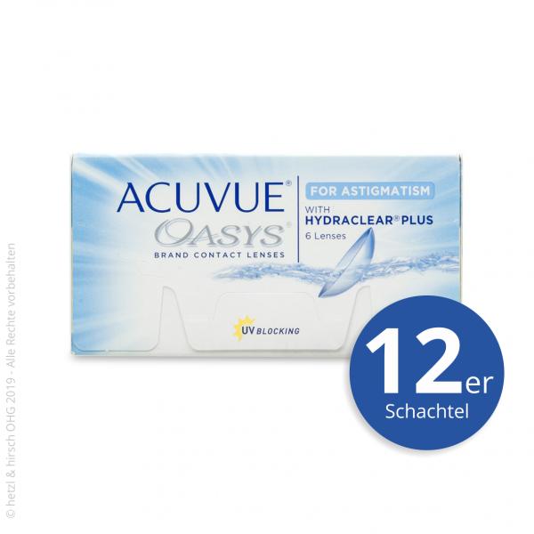 Acuvue Oasys for Astigmatism 12er Zwei-Wochenlinsen