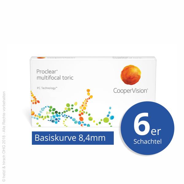 CooperVision Proclear multifocal toric 6er Monatslinsen