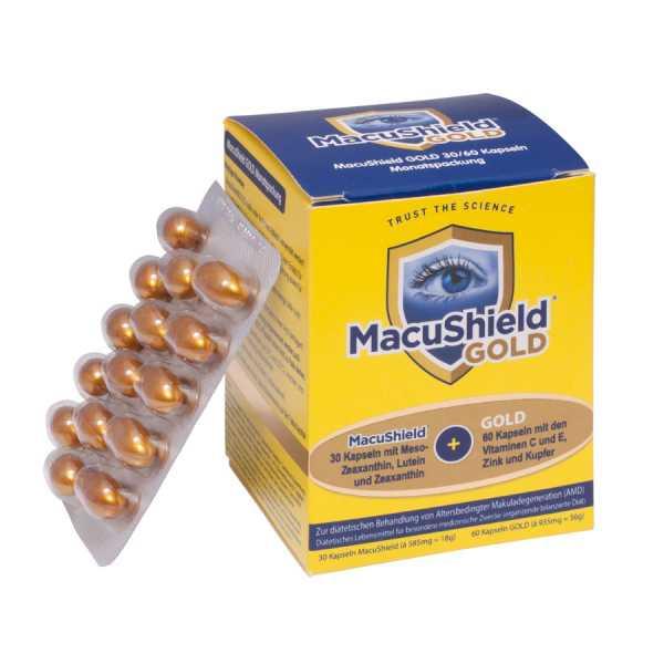 MacuShield - GOLD Weichkapseln