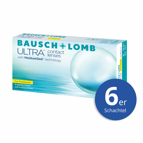 Bausch+Lomb ULTRA for Presbyopia 6er Monatslinsen