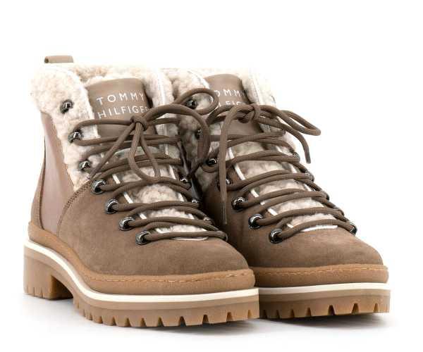 Tommy Hilfiger - Damen Boots beige - FW0FW04349