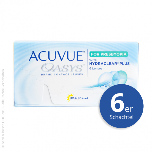 Acuvue Oasys for Presbyopia 6er Zwei-Wochenlinse