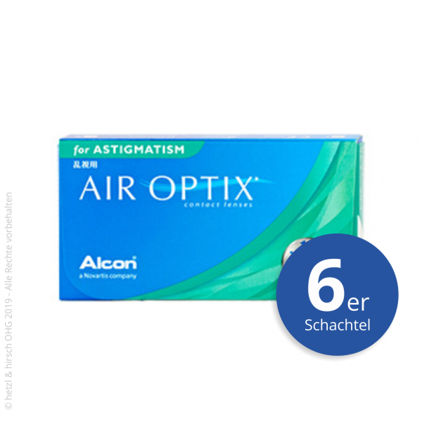 Alcon Air Optix for Astigmatism 6er Monatslinsen