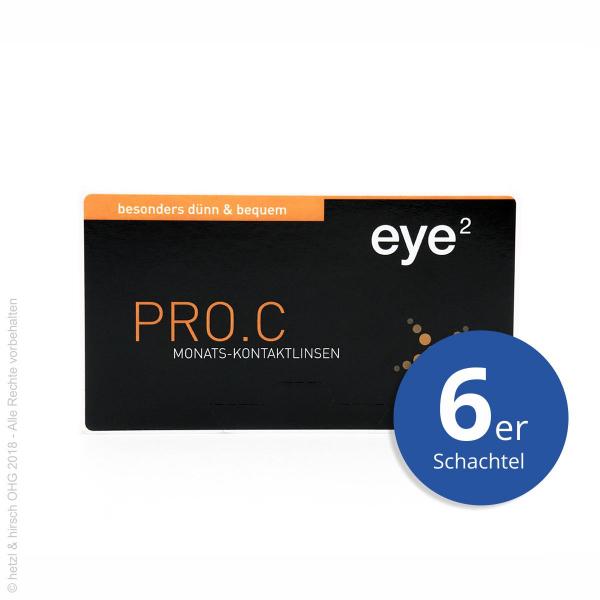 eye2 PRO.C 6er Monatslinsen
