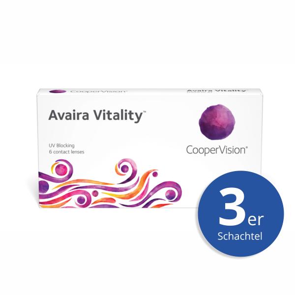 CooperVision Avaira Vitality 3er Monatslinsen