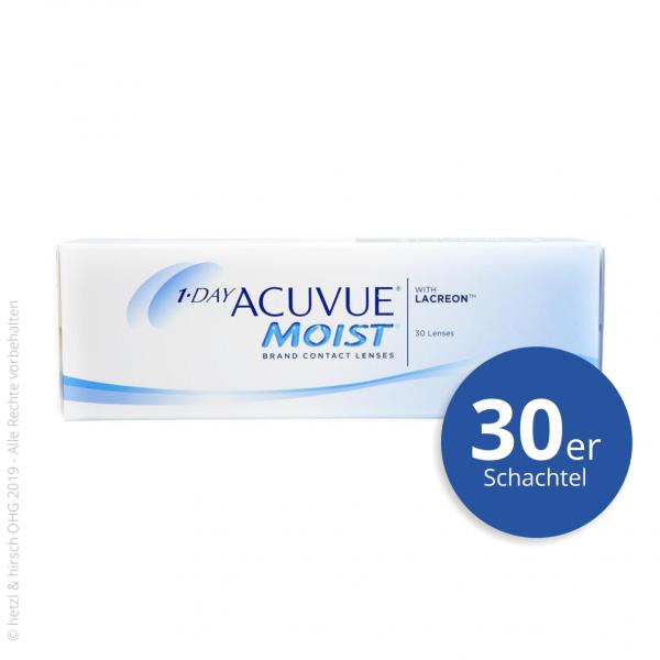 1-Day Acuvue Moist 30er Tageslinsen