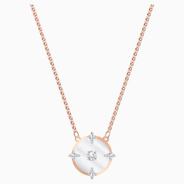 Swarovski - Halskette North - rosé-vergoldet - 5551797