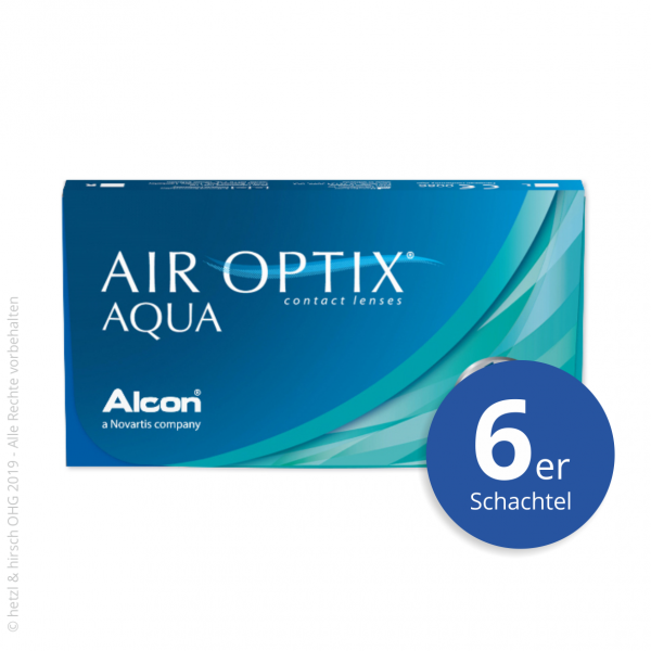 Alcon Air Optix Aqua 6er Monatslinsen