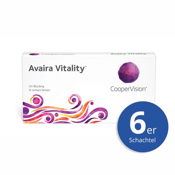 CooperVision Avaira Vitality 6er Monatslinsen