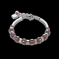 Coeur de Lion Armband Swarovski® - Kristalle & Edelstahl rosa