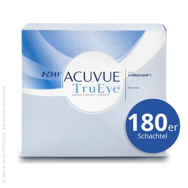 1-Day Acuvue TruEye 180er Tageslinsen