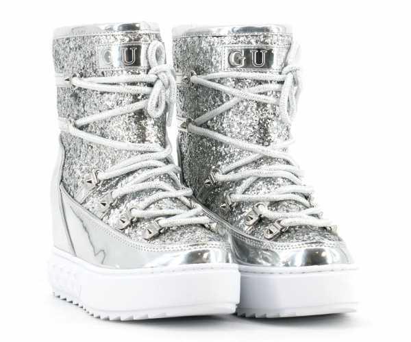 Guess - Damen Boots silber - FL8FRNFAM12
