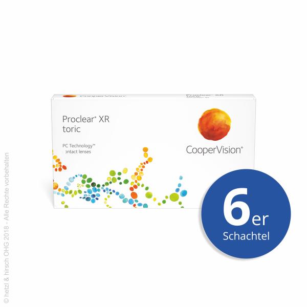 CooperVision Proclear toric XR 6er Monatslinsen