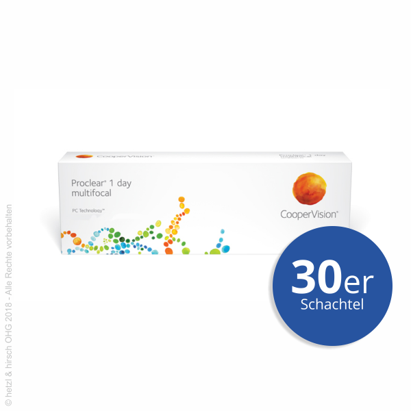 CooperVision Proclear 1day Multifocal 30er Tageslinsen