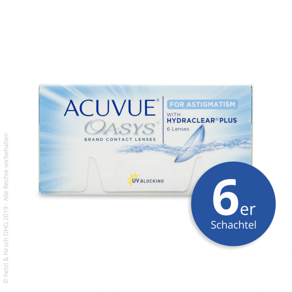 Acuvue Oasys for Astigmatism 6er Zwei-Wochenlinsen