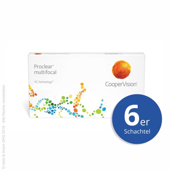 CooperVision Proclear multifocal XR 6er Monatslinsen