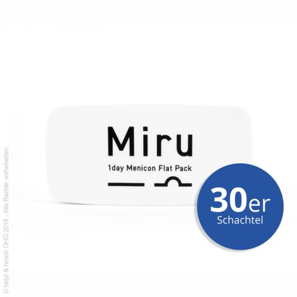 Menicon Miru 1day Flat Pack 30er Tageslinsen
