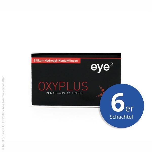 eye2 OXYPLUS ELITE 6er Monatslinsen