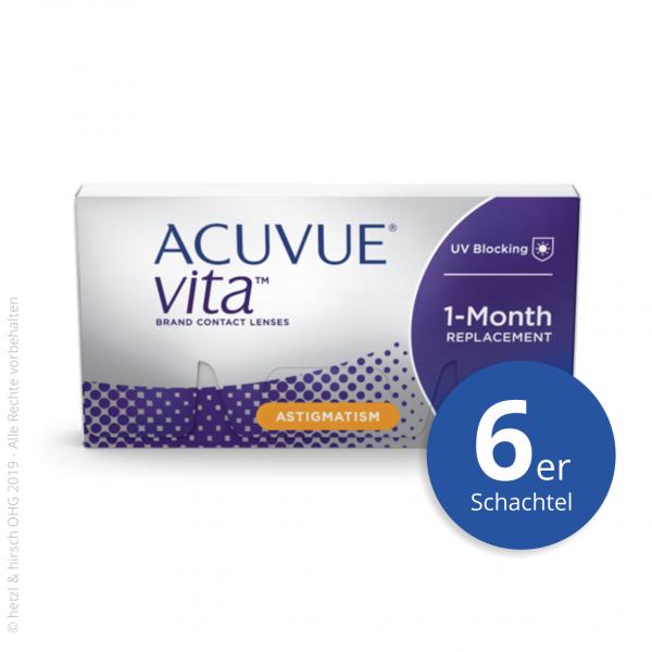 Acuvue Vita for Astigmatism 6er Monatslinsen