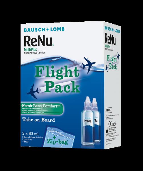 Bausch+Lomb ReNu MultiPlus Flight Pack 2x 60ml