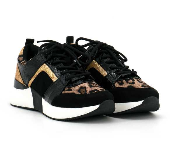 la strada - Sneaker Leopard Multi - 1807433