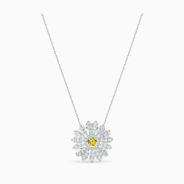 Swarovski - Halskette - Eternal Flower silber- 5512660
