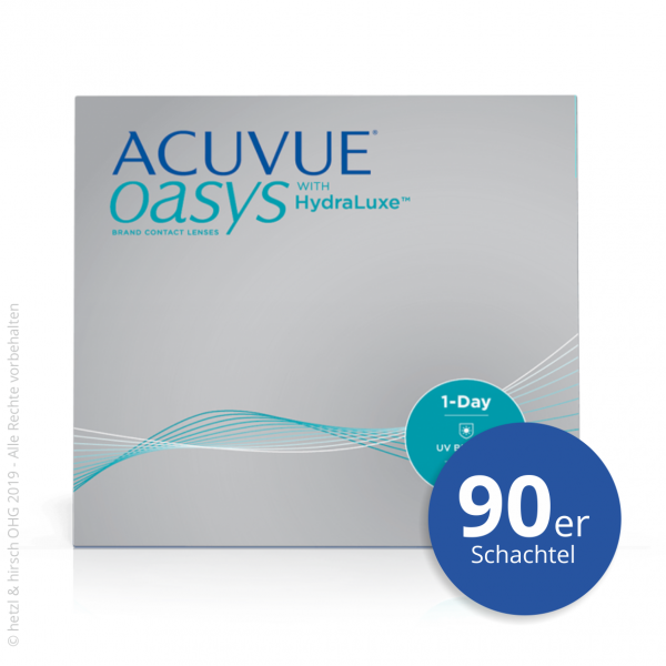 Acuvue Oasys 1-Day 90er Tageslinsen