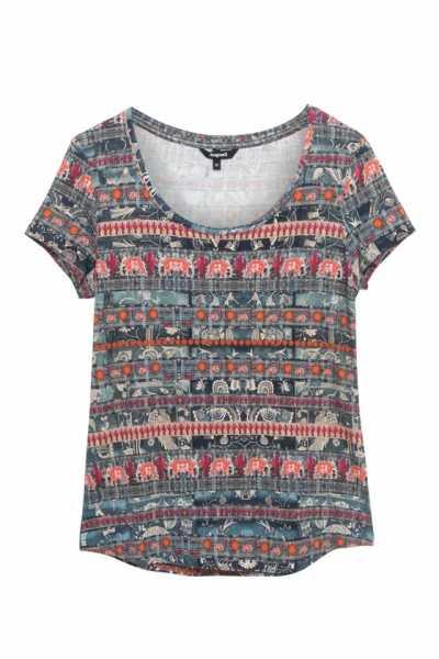 Desigual - T-Shirt Santorini - 21SWTK74
