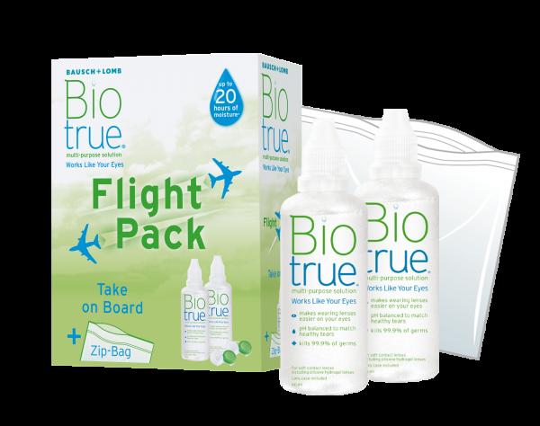 Bausch+Lomb Biotrue Flight Pack 2x 60ml