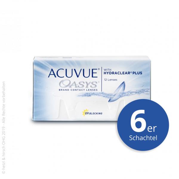 Acuvue Oasys 6er Zwei-Wochenlinsen