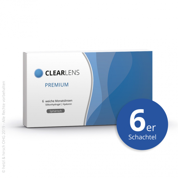 ClearLens Premium Monatslinsen Sphärisch