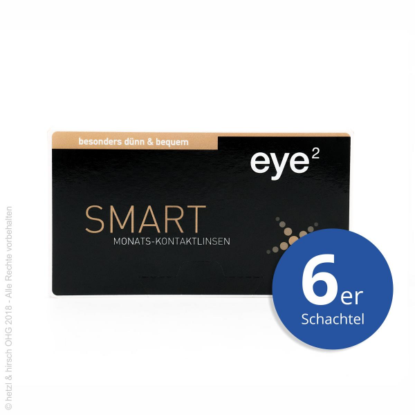eye2 SMART 6er Monatslinsen