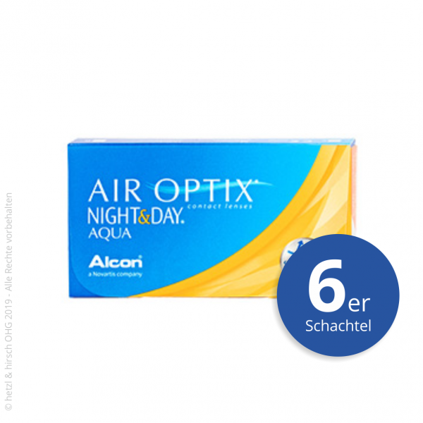 Alcon Air Optix Night&Day Aqua 6er Monatslinsen