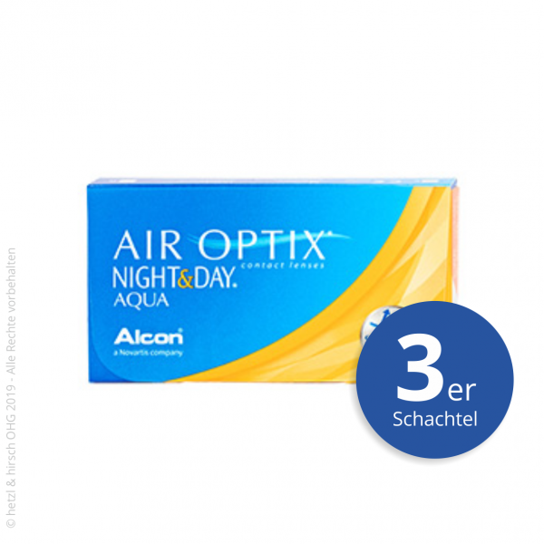 Alcon Air Optix Night&Day Aqua 3er Monatslinsen