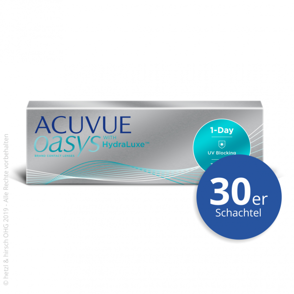 Acuvue Oasys 1-Day 30er Tageslinsen