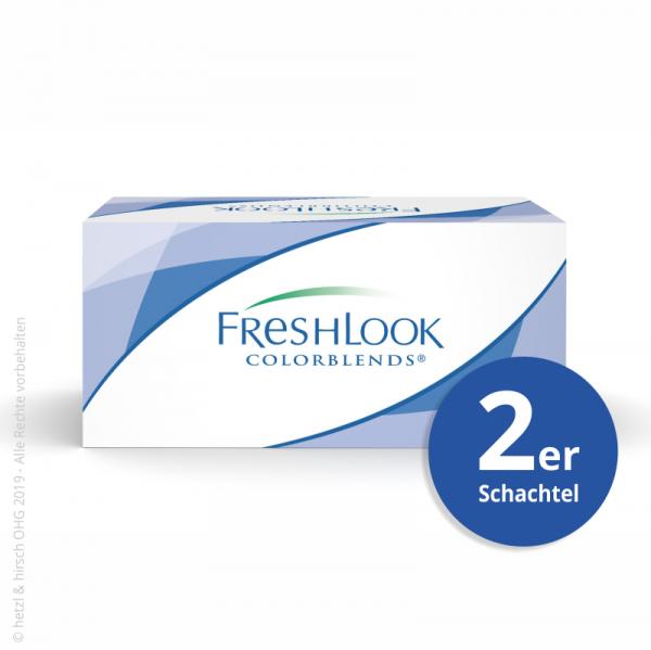 Alcon Fresh Look ColorBlends 2er Farb-Monatslinsen