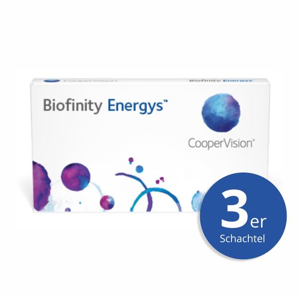 CooperVision Biofinity Energys 3er Monatslinsen